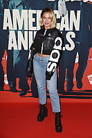 """Jess Woodley<br /> arriving for the premiere of """"American Animals"""" screening at Somerset House, London<br /> <br /> ©Ash Knotek  D3425  22/08/2018"""