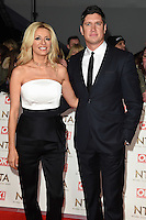 Tess Daly and Vernon Kay<br /> at the National TV Awards 2017 held at the O2 Arena, Greenwich, London.<br /> <br /> <br /> ©Ash Knotek  D3221  25/01/2017