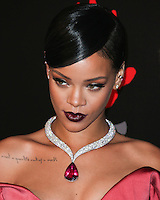 BEVERLY HILLS, CA, USA - DECEMBER 11: Rihanna arrives at Rihanna's 1st Annual Diamond Ball held at The Vineyard Beverly Hills on December 11, 2014 in Beverly Hills, California, United States. (Photo by Xavier Collin/Celebrity Monitor)