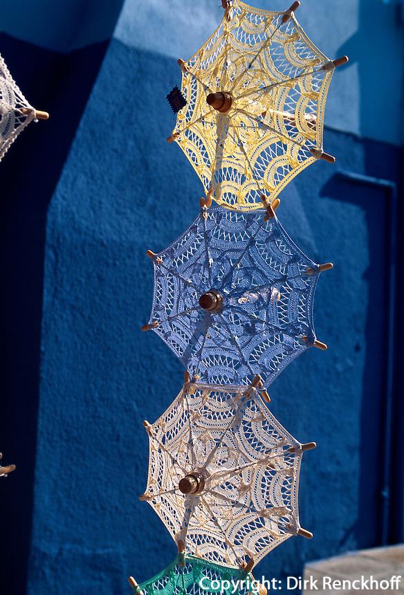 Verkauf von Spitzen, Burano bei Venedig, Italien