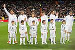 Real Madrid's players during La Liga match. March 20,2016. (ALTERPHOTOS/Borja B.Hojas)