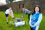 The staff of South Munster Citizens Information Service in Tralee who are doing their couch to 5k fitness and wellness programme. Front right: Kirsty Nowak. Back l to r: Joe Moloney and Tina Curtin.
