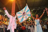 SAO PAULO, SP, 09 DE DEZEMBRO DE 2011, Integrantes da Império de Casa Verde, no LANÇAMENTO DO CD DA LIGA DAS ESCOLAS DE SAMBA 2012 na quadra da Escola de Samba Rosas de Ouro, zona norte de SP.  (FOTO: MILENE CARDOSO / NEWS FREE)