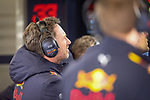 Christian Horner, Team Principal of the Red Bull Racing Formula One team during the tests for the new Formula One Grand Prix season at the Circuit de Catalunya in Montmelo, Barcelona. February 19, 2020 (ALTERPHOTOS/Javier Martínez de la Puente)