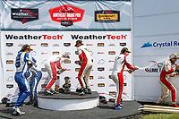 ST Podium, #73 MINI JCW Team, MINI JCW, ST: Mat Pombo, Mike LaMarra, #81 BimmerWorld Racing, BMW 328i, ST: Nick Galante, Devin Jones, #52 MINI JCW Team, MINI JCW, ST: Mark Pombo, Colin Mullan