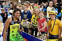 Kelera Nawai of the Pulse, ANZ Premiership Netball - Te Wānanga o Raukawa Pulse v Southern Steel at Te Rauparaha Arena, Porirua, New Zealand on Sunday 16 May 2021.<br /> Photo by Masanori Udagawa. <br /> www.photowellington.photoshelter.com