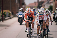 Gianni Vermeersch (BEL/Corendon-Circus)<br /> <br /> 3rd Dwars Door Het hageland 2018 (BEL)<br /> 1 day race:  Aarschot > Diest: 198km
