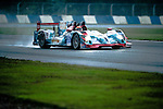 Jackie Chan DC Racing, #35 Oreca 03R Nissan, driven by Ho-pin Tung and Gustavo Menezes in action during Asian LMS Qualifying (LMP2, LMP3, CN) of the 2016-2017 Asian Le Mans Series Round 1 at Zhuhai Circuit on 29 October 2016, Zhuhai, China.  Photo by Marcio Machado / Power Sport Images