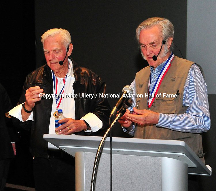 National Aviation Hall of Fame and AF Museum Foundation present, An Evening with Dick and Burt Rutan at the National Museum of the United States Air Force on February 22, 2019.