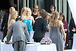 EXCLUSIVE PICTURES     12.05.2010., Zagreb, Croatia - Luka Modric, footballer who plays for Tottenham Hotspur, married his pregnant girlfriend Vanja Bosnic in a secret wedding ceremony at the restaurant Okrugljak in front of marriage registrar, family and closest friends. .Foto nph / Dalibor