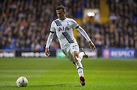 Dele Alli of Tottenham Hotspur chases down the ball during the UEFA Europa League Group J match between Tottenham Hotspur and R.S.C. Anderlecht at White Hart Lane, London, England on 5 November 2015. Photo by Andy Rowland.