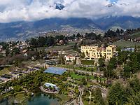 Schloss Trauttmansdorff mit Gärten, Meran-Merano, Provinz Bozen-Südtirol, Italien<br /> Schloss Trauttmansdorff and gardens, Merano, South Tyrol-Bolzano, Italy, Europe