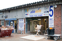 Able Skills in Dartford, Kent, runs courses in construction industry skills like, bricklaying, carpentry and tiling.