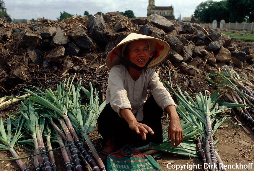 Markt in Nhay Khanh, Vietnam