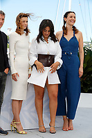 CANNES, FRANCE - JULY 13: Celine Sallette, Camelia Jordana and Doria Tillier attend the Talents Adami photocall during the 74th annual Cannes Film Festival on July 13, 2021 in Cannes, France. <br /> CAP/GOL<br /> ©GOL/Capital Pictures