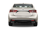 Straight rear view of 2018 Toyota Avalon XLE 4 Door Sedan Rear View  stock images