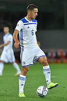 Amir Hadziahmetovic of Bosnia during the Uefa Nation League Group Stage A1 football match between Italy and Bosnia at Artemio Franchi Stadium in Firenze (Italy), September, 4, 2020. Photo Massimo Insabato / Insidefoto