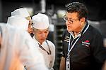 The Masters Club Executive Chef Yves Mattagne at Longines Hong Kong Masters 2015 at the Asiaworld Expo on 13 February 2015 in Hong Kong, China. Photo by Moses Ng / Power Sport Images