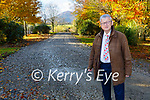 Cllr Donal Grady on the new cycle path connecting Ross road to Muckross Road in Killarney