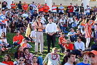 Oct. 15, 2011-Charlottesville, VA.-USA- Virginia Cavaliers fans during the ACC football game against Georgia Tech at Scott Stadium. Virginia won 24-21. (Credit Image: © Andrew Shurtleff