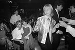 Wedgies Night Club in the Kings Road Chelsea London 1982.