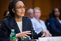 Stacey A. Dixon appears before a Senate Committee on Intelligence hearing for her nomination to be Principal Deputy Director of National Intelligence, in the Dirksen Senate Office Building in Washington, DC, Tuesday, July 20, 2021. Credit: Rod Lamkey / CNP /MediaPunch