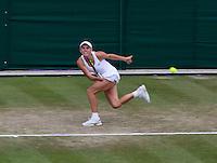 England, London, 27.06.2014. Tennis, Wimbledon, AELTC, Caroline Wozniacki (DEN)<br /> Photo: Tennisimages/Henk Koster