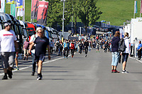 4th September 2021; Red Bull Ring, Spielberg, Austria; DTM  Race 1 at Spielberg; The first spectators in the paddock at the DTM round at the Red Bull Ring
