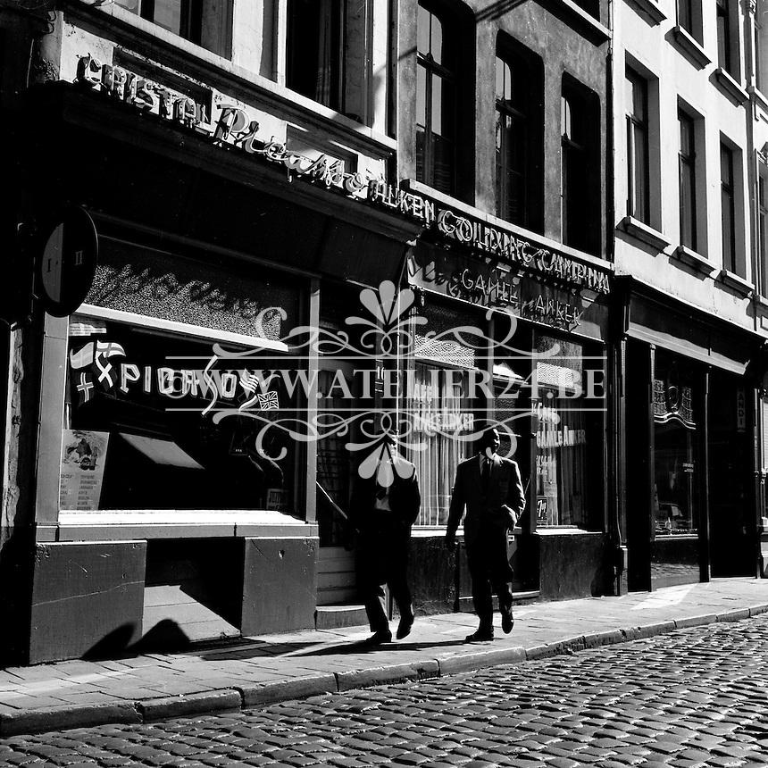 1961. Antwerpen cafe Picaso.