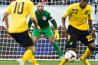 Kansas City, MO. - Friday, October 11, 2013: The US Men's National team defeated Jamaica 2-0 during a WCQ Hexagonal round match at Sporting Park.