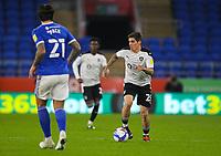 3rd November 2020; Cardiff City Stadium, Cardiff, Glamorgan, Wales; English Football League Championship Football, Cardiff City versus Barnsley; Dominik Frieser of Barnsley brings the ball forward