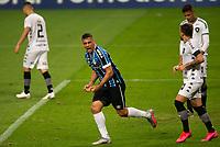 14th October 2020; Arena de Gremio, Porto Alegre, Brazil; Brazilian Serie A, Gremio versus Botafogo; Diego Souza of Gremio celebrates his goal in the 34th minute for 1-0