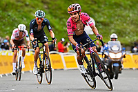15th July 2021; Luz Ardiden, Hautes-Pyrénées department, France;  HIGUITA GARCIA Sergio Andres (COL) of EF EDUCATION - NIPPO during stage 18 of the 108th edition of the 2021 Tour de France cycling race, a stage of 129,7 kms between Pau and Luz Ardiden.