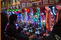 Pachinko parler in Shinjuku, Tokyo, Japan