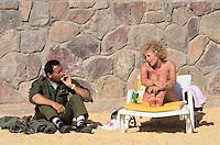 - the turistic place of Eilat on the Red sea....- la località balneare di Eilat sul mar Rosso