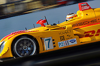 12-15 March 2008, Sebring, Florida, USA.Timo Bernhard at the wheel of the DHL Porsche RS Spyder..©F.Peirce Williams 2008, USA .
