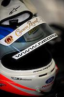 Ozz Negri's Helmet, #60 Michael Shank Racing Ford/Riley