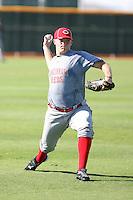 Jacob Johnson - Cincinnati Reds - 2010 Instructional League.Photo by:  Bill Mitchell/Four Seam Images..