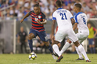 Tampa, FL - July 12, 2017: Juan Agudelo The USMNT (USA) defeated Martinique (MAR) 3-2 in a 2017 Gold Cup group stage match at Raymond James Stadium.