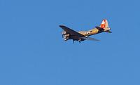 B-17 Bomber Flyover