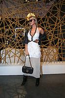 NOVA YORK,USA, 13.02.2019 - MODA-NOVA YORK - Influenciadora Francine Araujo durante desfile da grife Rosa Cha no New York Fashion Week (NYFW) em Nova York nesta quarta-feira, 13. (Foto: Vanessa Carvalho/Brazil Photo Press)