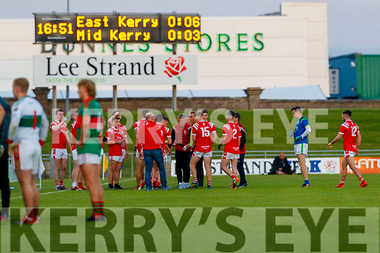 East Kerry team during the Kerry County Senior Football Championship Final match between East Kerry and Mid Kerry at Austin Stack Park in Tralee on Saturday night.