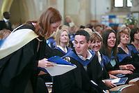 University Graduation Day..