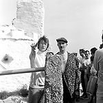 Beatles 1967 John Lennon films Magical Mystery Tour at Newquay