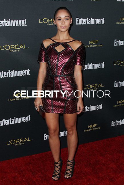 WEST HOLLYWOOD, CA, USA - AUGUST 23: Cara Santana arrives at the 2014 Entertainment Weekly Pre-Emmy Party held at the Fig & Olive on August 23, 2014 in West Hollywood, California, United States. (Photo by Xavier Collin/Celebrity Monitor)