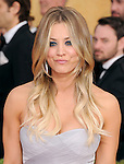 Kaley Cuoco  attends The 20th SAG Awards held at The Shrine Auditorium in Los Angeles, California on January 18,2014                                                                               © 2014 Hollywood Press Agency