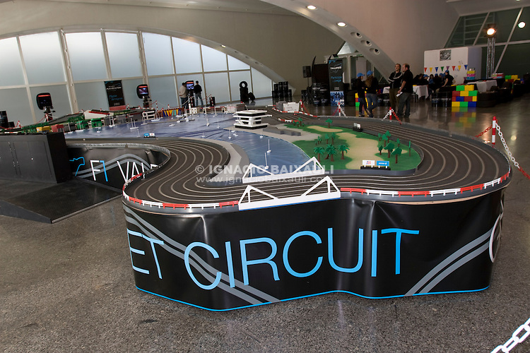 VALENCIA F1 STREET CIRCUIT SCALE MODEL F1 Europe Grand Prix - Slot Machine - At the Arts and Sciences City of Valencia