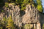 Route 35 Basalt Formation, Hood River, Oregon,