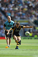 Jimmy Gopperth of Wasps takes a conversion kick during the Premiership Rugby Final at Twickenham Stadium on Saturday 27th May 2017 (Photo by Rob Munro)