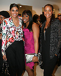 Rachel Roy, Amoy Pitters and Joy Bryant attend Celebrity Hairstylist Amoy Pitters & Host Joy Bryant Celebrate The Opening of Amoy Couture Hair Salon with Music by DJ Cassidy, New York, 2/16/10